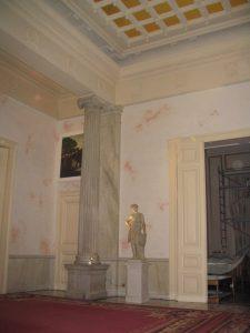 Création de dorure à l'Ambassade de France à Athènes