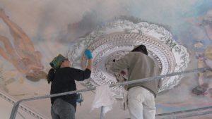 Restauration de dorure et décors peints